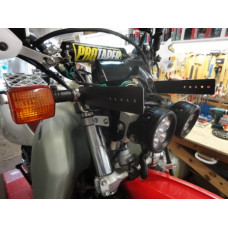 Buran Fairing Headlight Mounting Plate – Honda XR650L plate ONLY