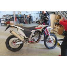 AJP PR7 Ride Report & Factory visit