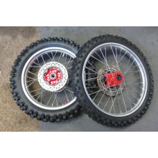 Honda XR650L Wheel set