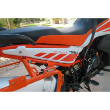 KTM 790 / 890 Adventure R & S flat rear side panels
